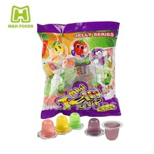 Jelly Series Mini Jelly Cup Pack Sugar in Bags