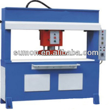 hydraulic traveling head die cutting press machine