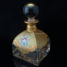 250ml gold handmade crystal perfume container/bottle