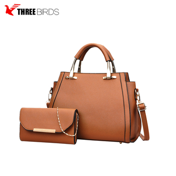 Fashion Handle bags and Womens Purses Ladies Satchel Tote Bag Shoulder Bags Two piece set