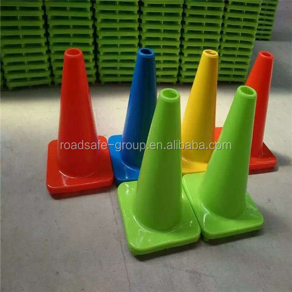 Roadway safety inflatable traffic cone flexible PVC traffic road cones