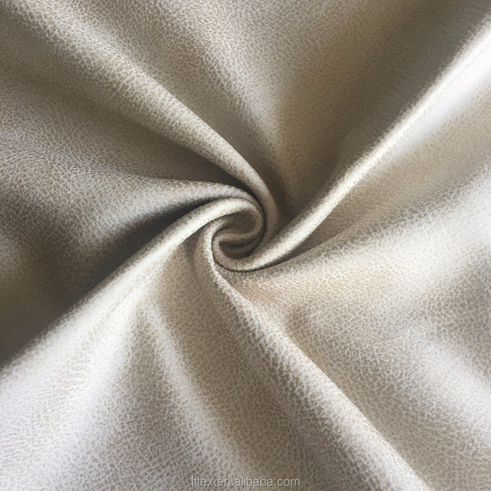 Artificial Suede for Sofa, Faux Suede Fabric for Apparel, Suede Fabric for furniture