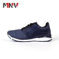 Hot sale fashion knitted upper summer sport shoe and sneaker