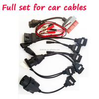 OBD2 Cables For TCS CDP Pro Cars Cables Diagnostic Interface Tool Full set 8 Car Cables Free For autocom CDP ds150e Scanner
