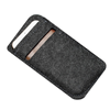 Promotional customized felt mobile phone bag for all barnd phones