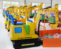 joyful amusement kiddie rides used excavator , cheap mini excavators for sale, mini digger for garden