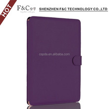 Premium quality folio leather cover case for macbook a1181