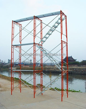 SGS/ISO certified Frame scaffolding the ladder scaffolding for easy climbing popular in Ethiopia