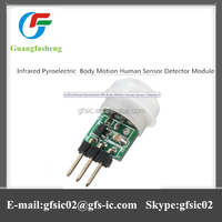 Advanced Mini Infrared Pyroelectric PIR Body Motion Human Sensor Detector Module