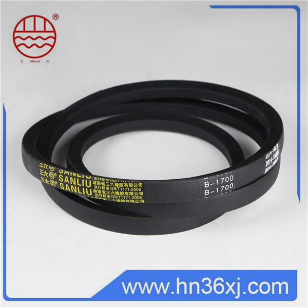Cheap small rubber belts endless with factory price