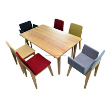 T018 Dining table designs four chairs