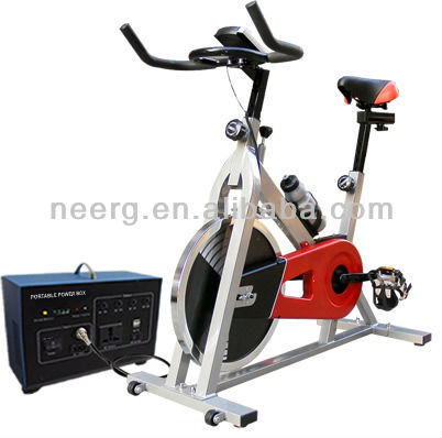 Eco-friendly Spinner Exercise Bicycle Power Generator - max. 500W