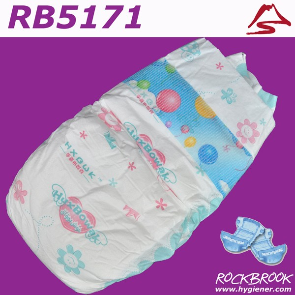High Quality Free Samples Disposable Diaper Baby Products Manufacturer from China