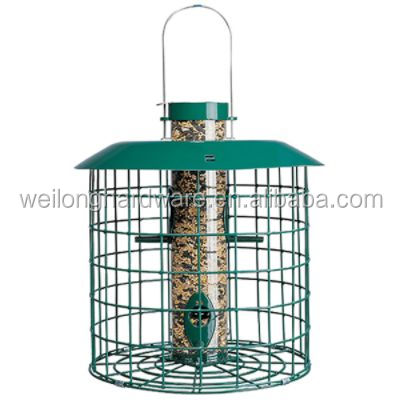 Outdoor 12 Inch 4-Peg squirrel proof bird feeder