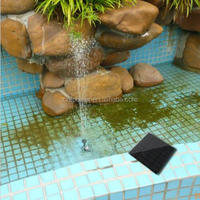 Solar Water Pump Power Panel Kit Fountain Pool Garden Pond Submersible Watering 6v