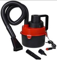 12V Wet & Dry Car Vacuum Cleaner with Brush/Crevice/Nozzle Head with CE and ROHS 90W portable powerfull car vacuum cleaner