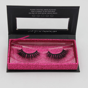 Whosale Mink Lashes 3D Mink Eyelashes Natural False Eyelashes 1 pair Handmade Fake Eye Lashes Extension Eyelash