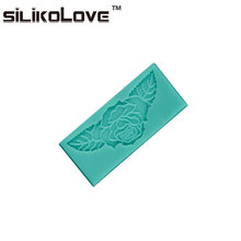 Food Grade Flower Leaf 3D Pattern Shape New Style Silicone Cake Mold Homemade Fondant Cake DecorationTools For Cake