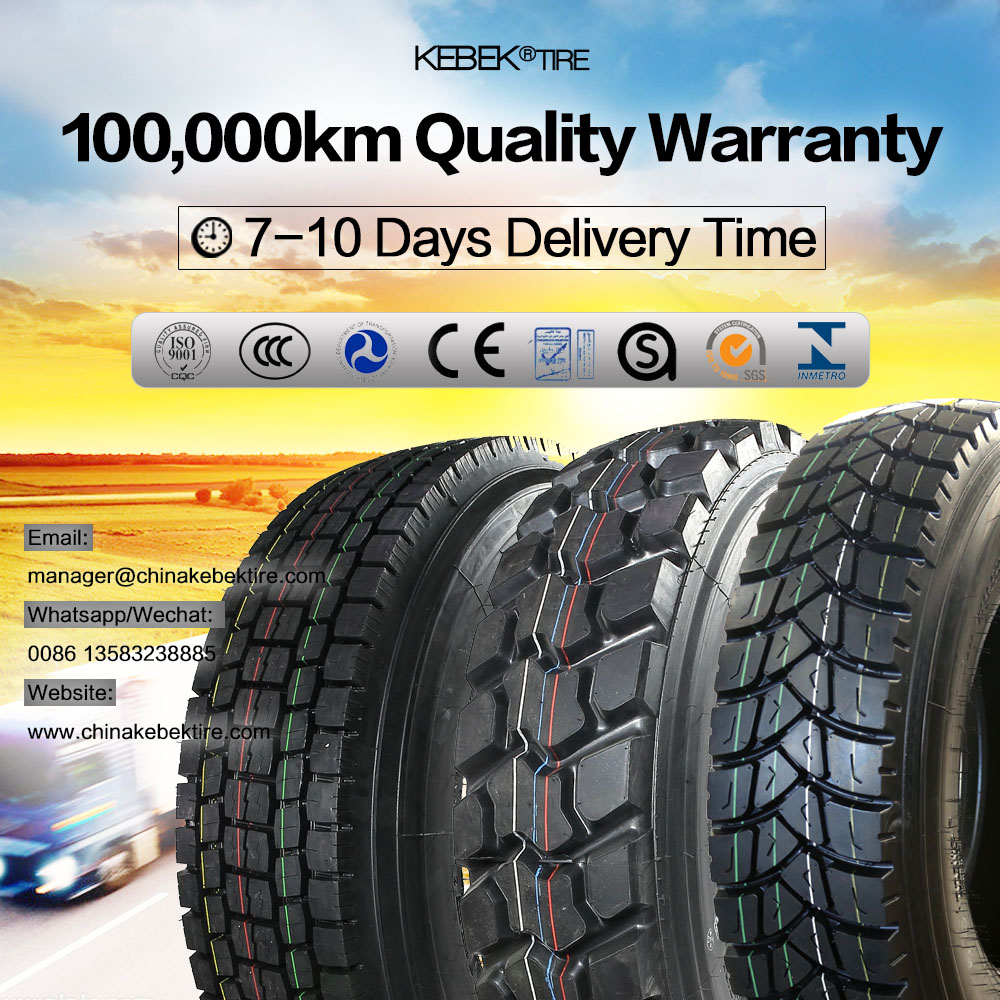 Chinese Rubber Truck Tires 1200R20 Brands Annaite for Coalmine Region