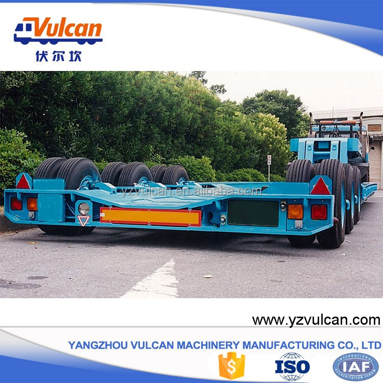 Heavy Truck Export Japan 3 Axle Car Carrying Trailer for Sale
