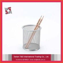 China Local Factory New Pattern Metal Pencil Holder For Work