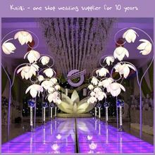KB130 high quality wedding flower Led light stage decorative road lead with long stemmed