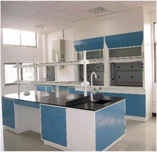 Wholesale school furniture lab equipment used fume hood / fume chamber with duct and blower for best price
