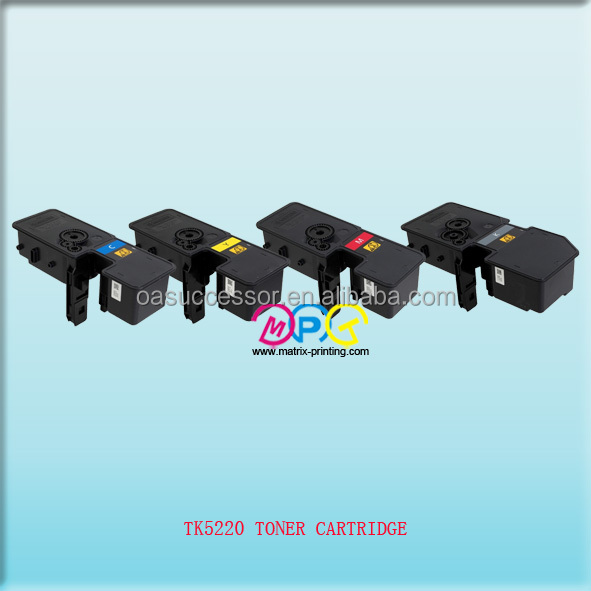 TK5220/5230/5240 new compatible empty toner cartridge,suit for M5521cdw/M5521cdn/P5021cdw