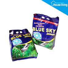 Professional oem blue sky super power detergent powder/ingredients of washing powder