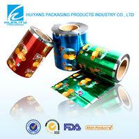 China printed plastic food laminated crackers packaging film