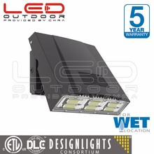 DLC led rotatable wall pack light with High quality PC lens