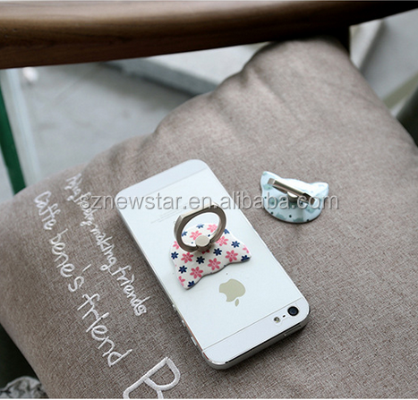 Mobile Phone Grip Holder Stand Finger Ring For Phone from shenzhen newstar