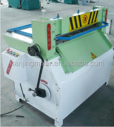 nanjing mixer XQ620 rubber strip slicing machine/cut line