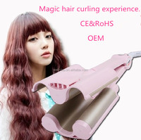 Triple Wave MCH Heater Hair Curling Wand Hair Curler Fashion Popular