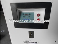Straw pellet hot water boiler for hotel in Ukraine