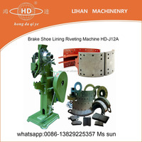 Brake Shoe Lining Riveting Machine