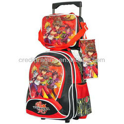 2013 New Trolley School Bag With Backpack