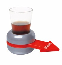 Interesting Table Drinking Spinning Shot Game With 4 Shot Glasse Small