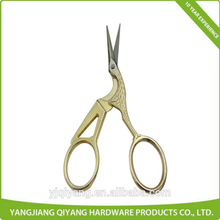 Gold Plating Clothing Fabric Cutter Scissors Embroidery Scissors