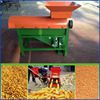 Small easy operated manual corn thresher