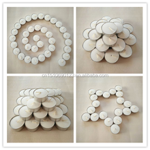Wholesale Bulk Pure Palm Wax White Tealight Candles