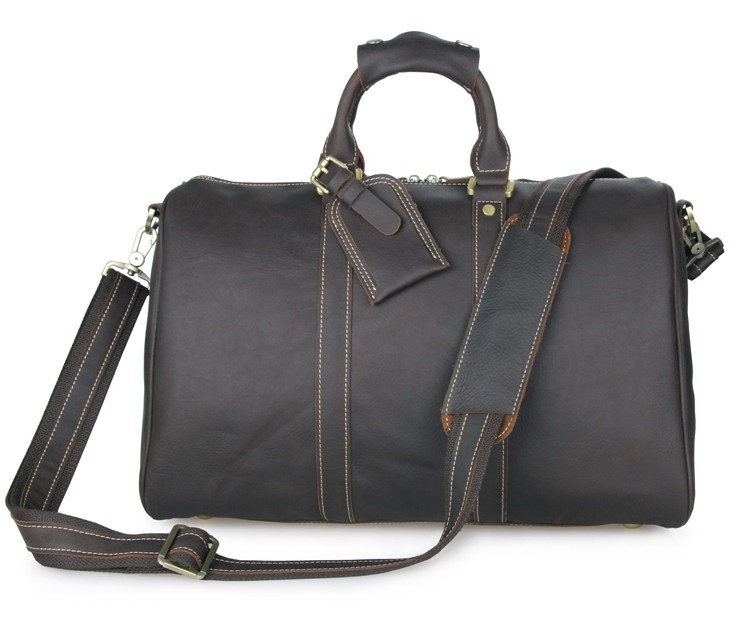 7077Q J.M.D Wholesale Supplier Vintage Leather Garment Storage Time Travel Cross Body Bag