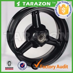 Hot sale CNC Aluminum alloy wheel rim for street bike from tarazon