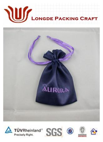 high quality gift&jewelry satin pouch/bag