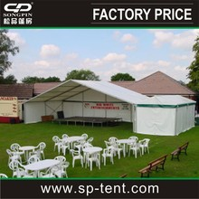 20x30m white heated marquee party tent, Big marquee party tent