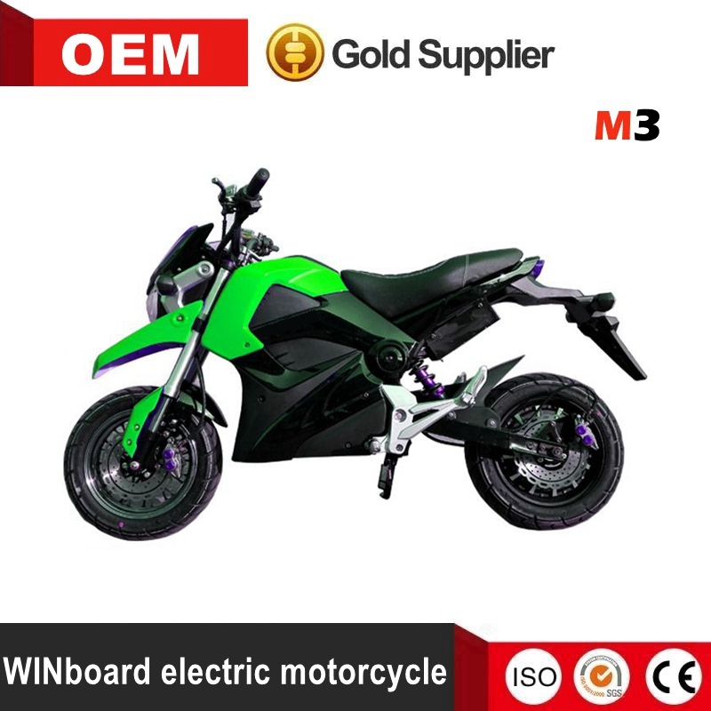 WINboard factory price fast 60km/h 3000W 72V 30AH disc brake lead acid battery adult electric motorbike electric motorcycle