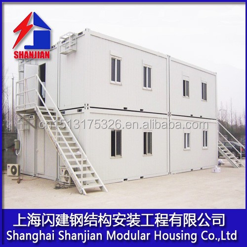 shanghai manufacture light steel prefabricated container house for europe