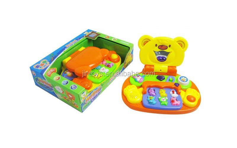 New items kids early educational musical toy learning computer with music AL016720