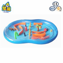 Wholesale safety swimming pool PVC inflatable baby swimming pool bath tub