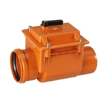 ERA PVC Drain Plastic Non Return Check Valves Fittings